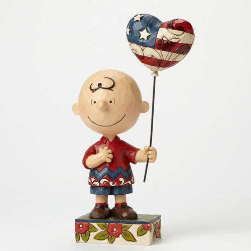 Charlie Brown, Allegiance Patriotic Peanuts by Jim Shore Item 4043618