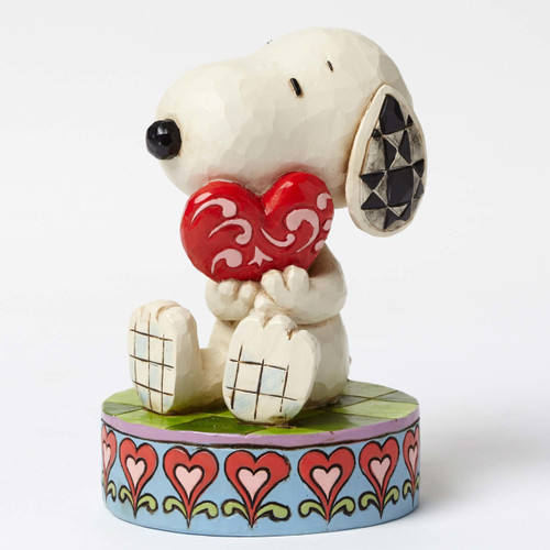 Snoopy Holding Heart Peanuts by Jim Shore 4049396