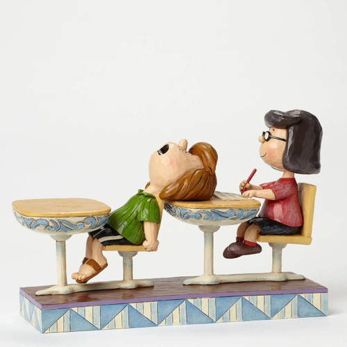 Marcie and Peppermint Patty School Days Peanuts by Jim Shore 4049416