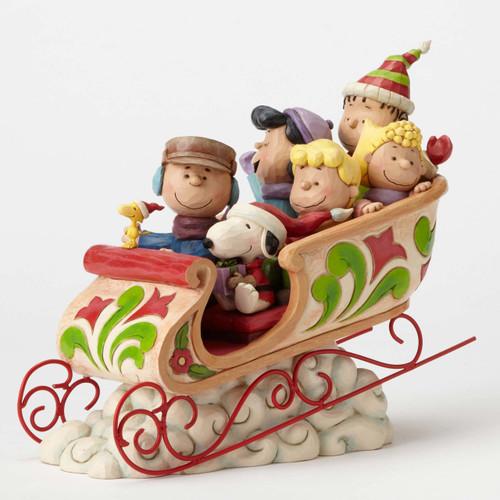 Peanuts Gang Sleigh Ride Peanuts by Jim Shore 4052722