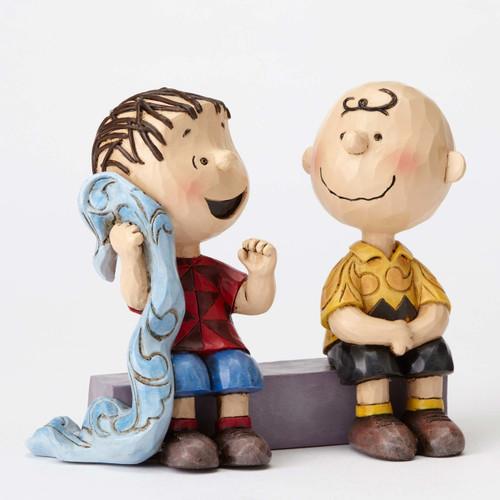 Charlie Brown Linus Peanuts by Jim Shore 4054081