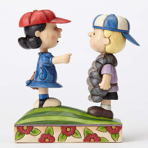 Schroeder Lucy Peanuts by Jim Shore 4054082