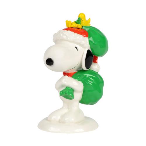 Santa's Helpers Snoopy and Woodstock 4037439