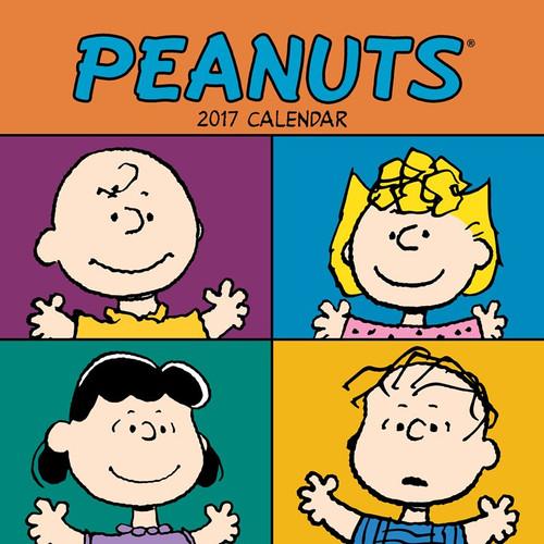 Peanuts 2017 Wall Calendar
