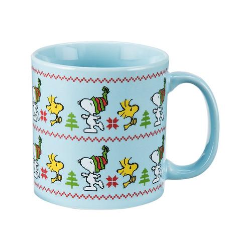 Snoopy ugly sweater mug