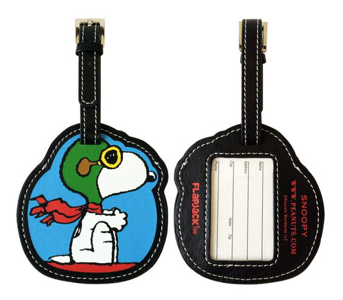 Snoopy Flying Ace Luggage Tag