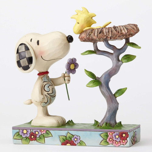 Snoopy with Woodstock in Nest Peanuts by Jim Shore 4054079