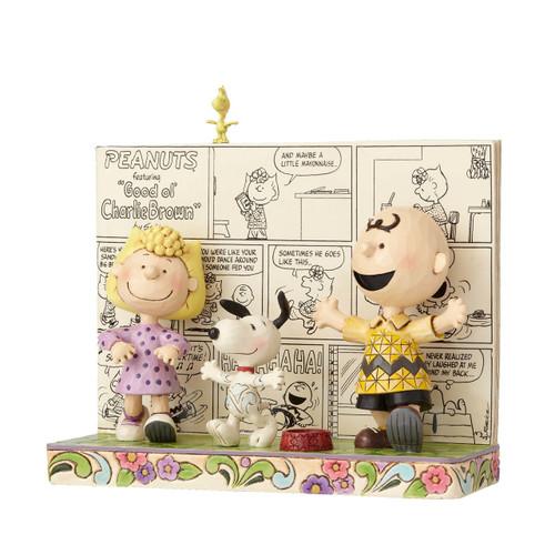 Peanuts Comics Happy Dance Peanuts by Jim Shore 4054078