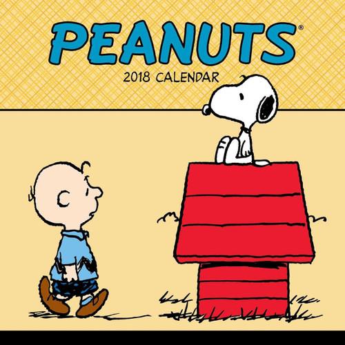2018 Peanuts Hanging Wall Calendar