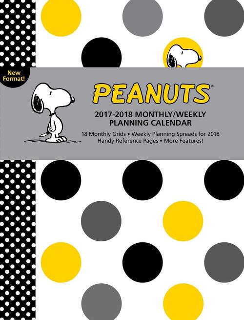 Peanuts 2018 Weekly Planner