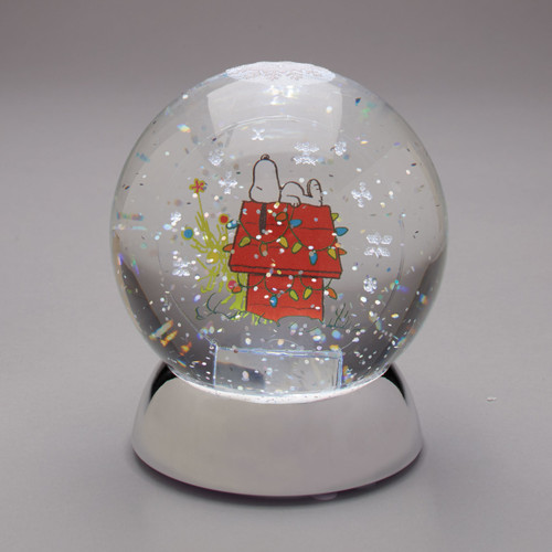 Peanuts Snoopy Waterdazzler Lighted Waterglobe