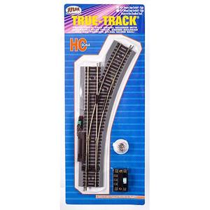 Atlas 481 True Track Code 83 RH Remote Snap-Switch HO