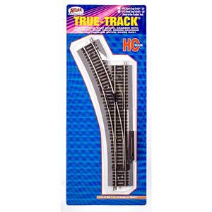 Atlas 478 True Track Code 83 LH Manual Snap-Switch HO