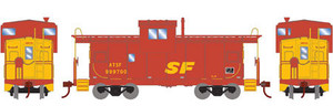 Roundhouse 87954 SF Kodachrome Wide Vision Caboose #999700 HO