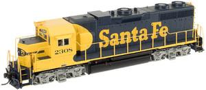ATLAS 10000208 Santa Fe GP38 #2310 DC HO