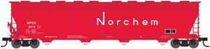 Atlas N 50002459 Norchem ACF 5701cf Covered Hopper #6010