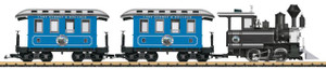 LGB 72327 Lake George & Boulder American Passenger Train Starter Set G Scale