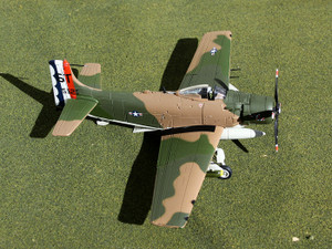 "GAUSA6003 Douglas Skyraider 1:72 scale ""Spad Dad"""