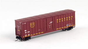FVM 81797 Wisconsin Central 7 Post Boxcar #20315 N scale