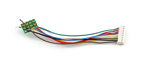 Soundtraxx 810135 NMRA-Compatible 8-pin to 9-pin DCC Wiring Harness