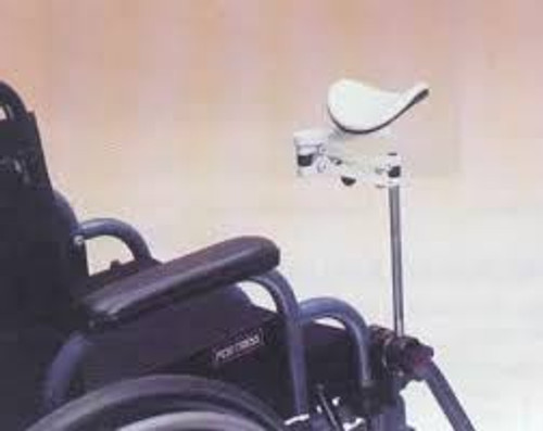 High model welded to wheelchair