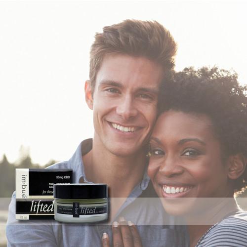 im·bue™ - lifted by em·body 50mg premium CBD eye cream - 1/2ounce jar