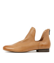 GONOW Ankle Boots in Dark Tan Leather