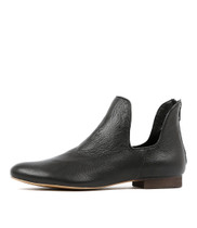 GONOW Ankle Boots in Black Leather