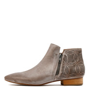 VALORI Ankle Boots in Grey Leather