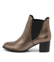 SADORE Ankle Boots in Bronze Leather