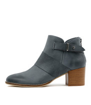 MATTER Ankle Boots in Denim Leather