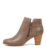 KINGS Ankle Boots in Taupe Leather