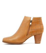 KINGS Ankle Boots in Tan Leather