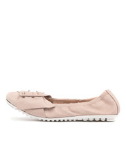 BACKUPS Ballet Flats in Pale Pink Leather