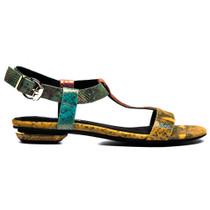 Inspire Flat Sandals in Multi Snake
