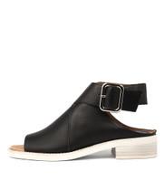 REEKER Sandals in Black Leather