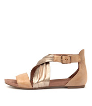 JANJIA Sandals Latte/ Champagne Leather