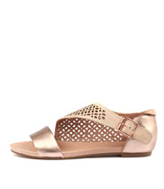 JADA Sandals in Rose Gold/ Nude Leather