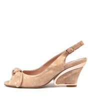 ESCARA High Heels in Nude/ Rose Gold Leather