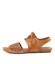 JABILA Sandals in Tan Leather
