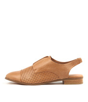 JAM Flats in Tan Leather