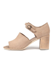 DECKA Heeled Sandals in Donkey Leather