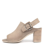 DAVINCI Heeled Sandals in Donkey Leather