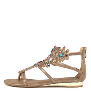 381 Sandals in Bronze Smooth