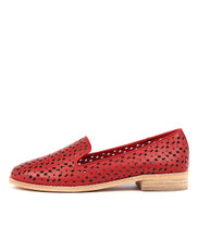ANSON Loafers in Red Leather