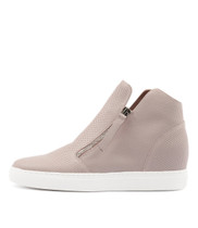 GISELE Sneakers in Pale Pink Leather