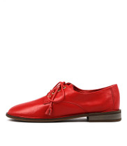 MIXERZ Flats in Red Leather