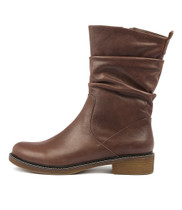 OKORO Boots in Choc Leather