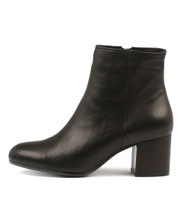 NULULU Ankle Boots in Black Leather