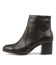 NIMBA Ankle Boots in Black Leather